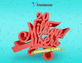 #50 for Design Contest: Freelancer.com Hits 20M Users af jillsfernandez