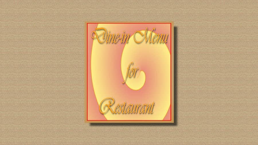 Kilpailutyö #4 kilpailussa New Casual/Formal Dine-in Menu for Restaurant