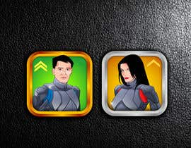classicrock tarafından Design Game Characters (Profile portrait Pics) için no 17