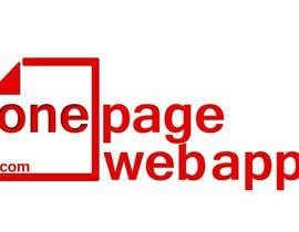 #141 for Design a Logo for OnePageWebApp.com by ranitabsw