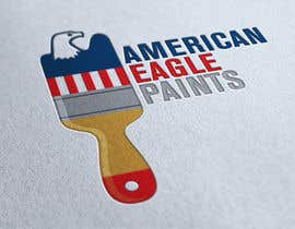 #35 cho Design a Logo for AMERICAN EAGLE PAINTS bởi PredragNovakovic