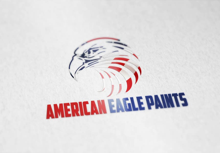 Kilpailutyö #24 kilpailussa Design a Logo for AMERICAN EAGLE PAINTS