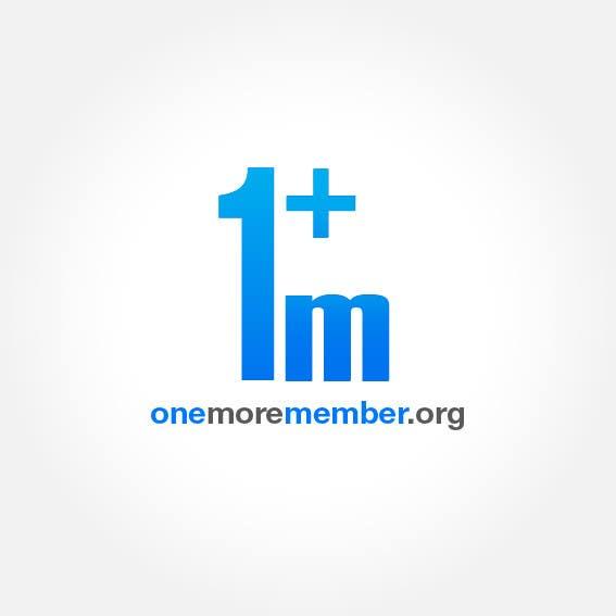 Penyertaan Peraduan #126 untuk Logo Design for One More Member (onemoremember.org)
