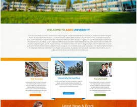 RJCompany tarafından Design a Website Mockup for  Education Center için no 11