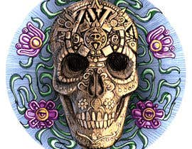 #30 untuk Day of the Dead - Sugar Skull Design / Cartoon / Illustration oleh brendonfarley