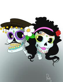 #14 for Day of the Dead - Sugar Skull Design / Cartoon / Illustration by fcontreras86