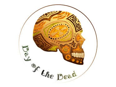 #8 for Day of the Dead - Sugar Skull Design / Cartoon / Illustration by Dragoljub
