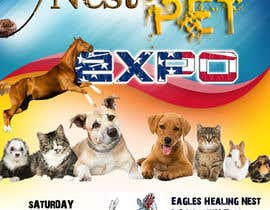 #13 for Design a Flier and Facebook Image for a Pet Expo by NavEenDil