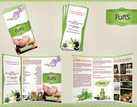 #16 for Design a Brochure for Essential Oil/Aromatherapy af sutanuparh