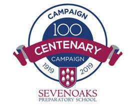 Nro 56 kilpailuun Sevenoaks Prep Centenary Campaign - logo käyttäjältä chimizy
