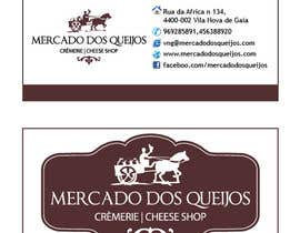 nº 44 pour CREATE A CARD TO OUR CHEESE SHOP par Emrulhossain