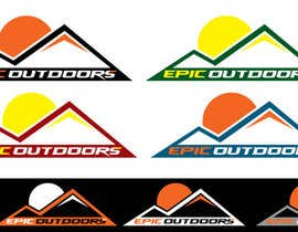 #32 para Design a Logo for  Epic Outdoors       (Clothing) por kingryanrobles22