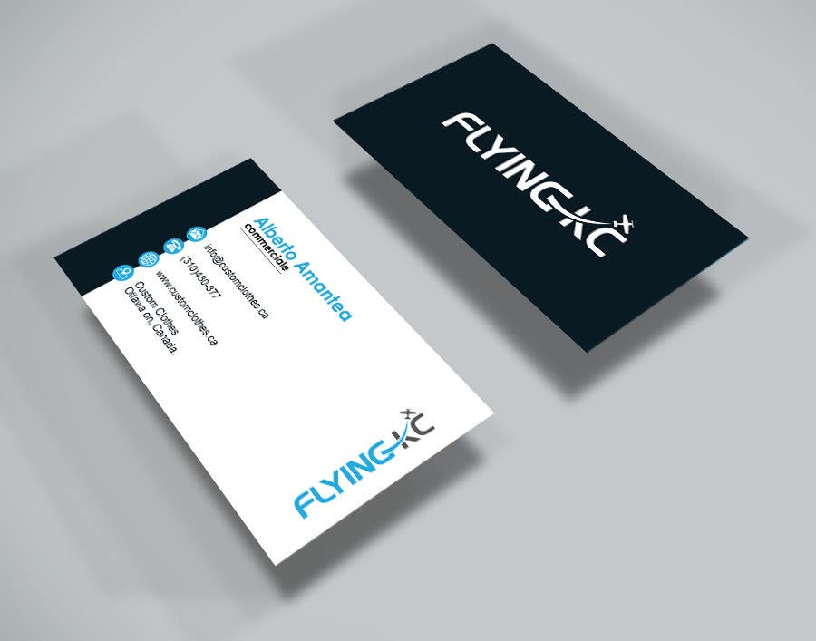 Entry 148 by rizwansourov01 for design some business cards for contest entry 148 for design some business cards for aviation company colourmoves