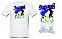 T-shirt Design for Tatami Fightwear Ltd için Graphic Design4 No.lu Yarışma Girdisi