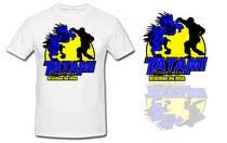 T-shirt Design for Tatami Fightwear Ltd için Graphic Design3 No.lu Yarışma Girdisi