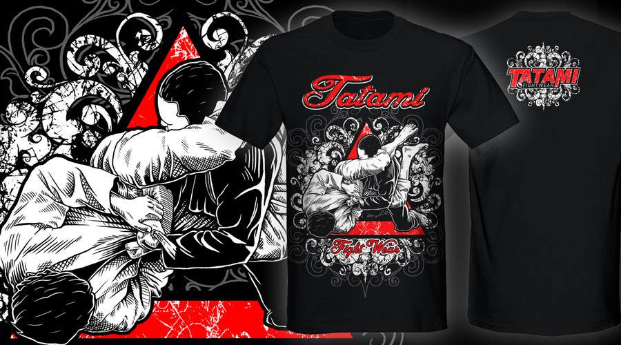 Конкурсная заявка №49 для T-shirt Design for Tatami Fightwear Ltd