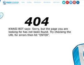 matovski tarafından Develop a creative 404 page için no 20