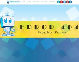 qasimriaz002 tarafından Develop a creative 404 page için no 18