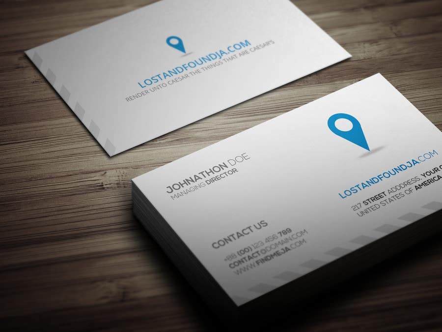 #22 for Design some Business Cards for findmeja.com by aalnoman33