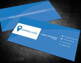 #78 for Design some Business Cards for findmeja.com af itsmusaid