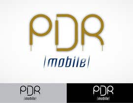 #116 for Design a Logo for PDR Mobile by rapakousisk