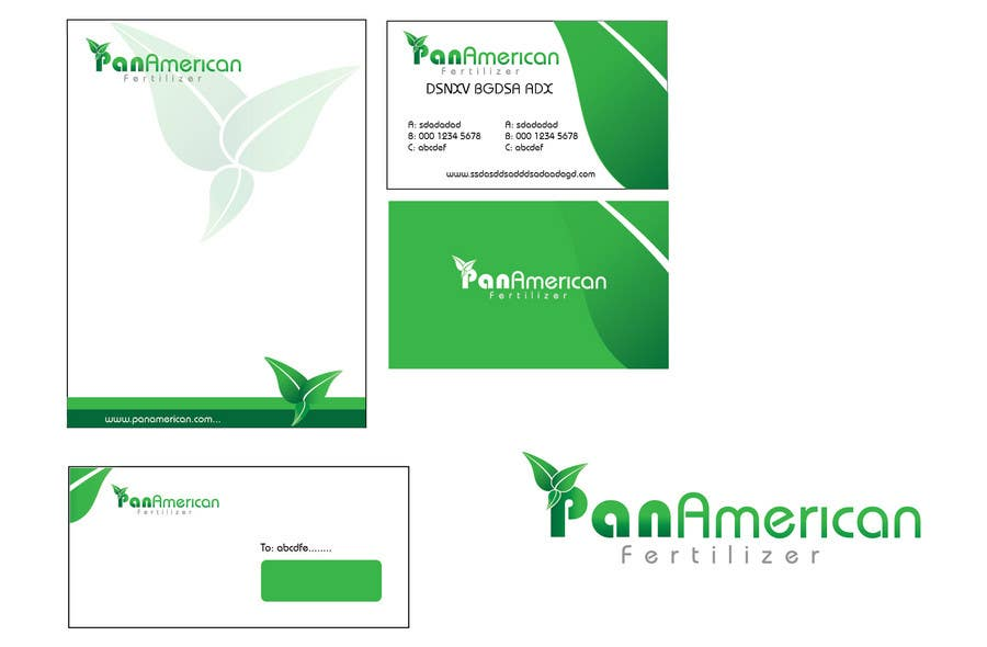 #154 for Logo Design for Pan American Fertilizer by Khanggraphic