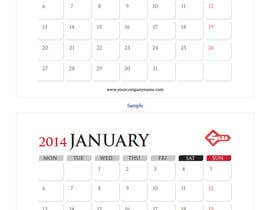 #17 for Design and Layout 2014 Calendar by sasfdo