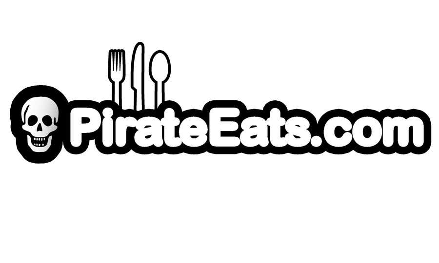"#15 for Design a Logo for ""Pirate"" themed food blog. Argggh! by andreistinga"