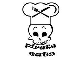 "nº 25 pour Design a Logo for ""Pirate"" themed food blog. Argggh! par andreistinga"
