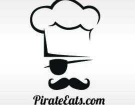 "nº 12 pour Design a Logo for ""Pirate"" themed food blog. Argggh! par kraphic"