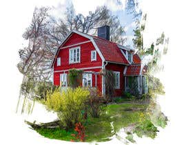 #16 for Design a picture with a typical Swedish house and surroundings by STARK2016