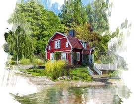 #17 for Design a picture with a typical Swedish house and surroundings by STARK2016