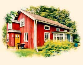 #24 for Design a picture with a typical Swedish house and surroundings by EstefanPortu
