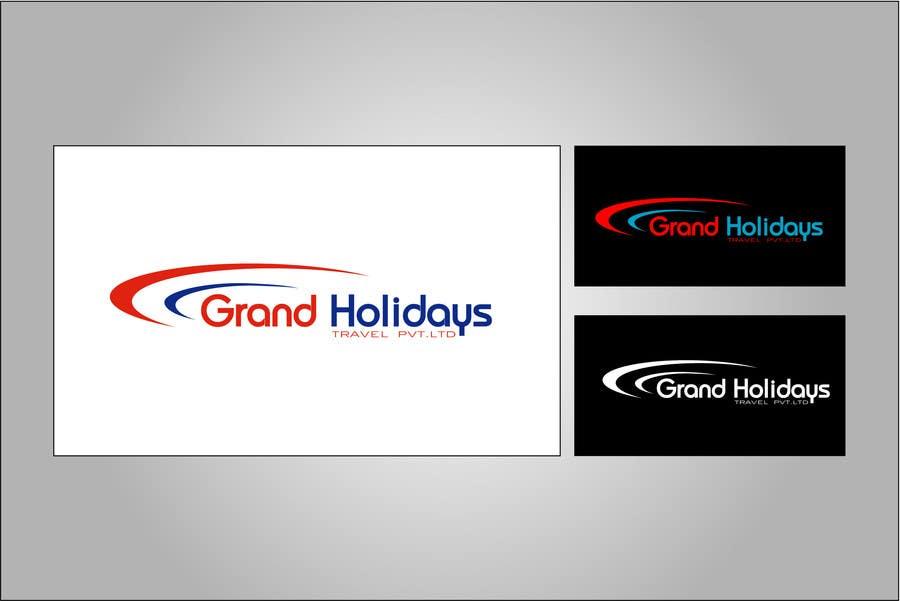 Konkurrenceindlæg #17 for Design a Logo for travel company 'Grand Holidays Travel Pvt. Ltd.'
