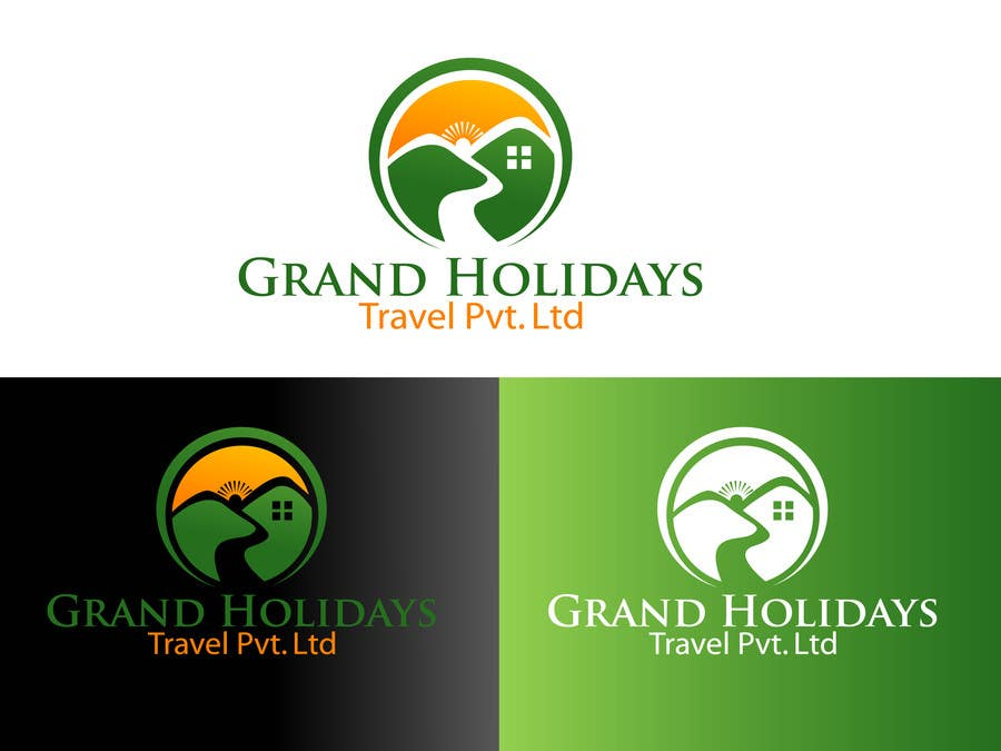 Konkurrenceindlæg #33 for Design a Logo for travel company 'Grand Holidays Travel Pvt. Ltd.'