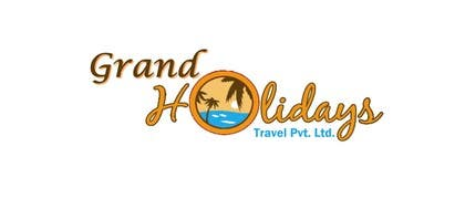 #46 for Design a Logo for travel company 'Grand Holidays Travel Pvt. Ltd.' by smahsan11