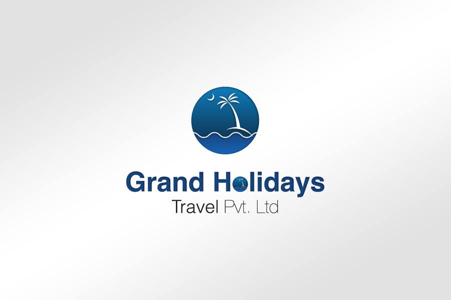 #3 for Design a Logo for travel company 'Grand Holidays Travel Pvt. Ltd.' by yogeshbadgire