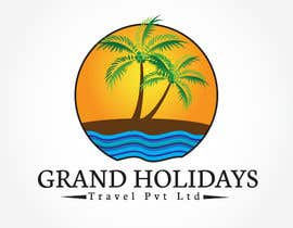 #42 untuk Design a Logo for travel company 'Grand Holidays Travel Pvt. Ltd.' oleh Syahriza