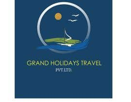 #12 untuk Design a Logo for travel company 'Grand Holidays Travel Pvt. Ltd.' oleh VikiFil