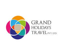 #14 untuk Design a Logo for travel company 'Grand Holidays Travel Pvt. Ltd.' oleh muradnofal