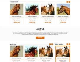Nro 25 kilpailuun Design a horse searching website käyttäjältä princevenkat