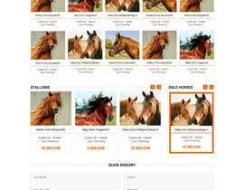 Nro 33 kilpailuun Design a horse searching website käyttäjältä princevenkat