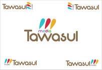 Graphic Design Kilpailutyö #150 kilpailuun Logo Design for Tawasul Media