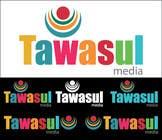 Graphic Design Kilpailutyö #45 kilpailuun Logo Design for Tawasul Media