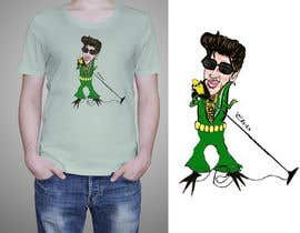 nº 19 pour Elvis as Corn T-Shirt par cpheyns001
