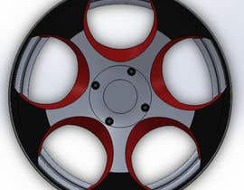nº 117 pour 5 SPOKE CAR RIM OR WHEEL DESIGN par handras88