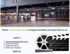 Nro 10 kilpailuun Design a Flyer- Watch the latest film on us email flyer design käyttäjältä nerimancebir
