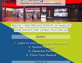 Nro 13 kilpailuun Design a Flyer- Watch the latest film on us email flyer design käyttäjältä gautam07
