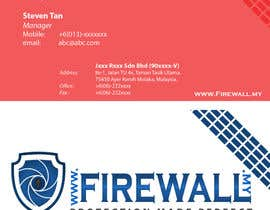nº 18 pour Design some Business Cards for firewall par tobyquijano