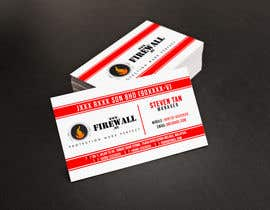 #37 for Design some Business Cards for firewall af pointlesspixels